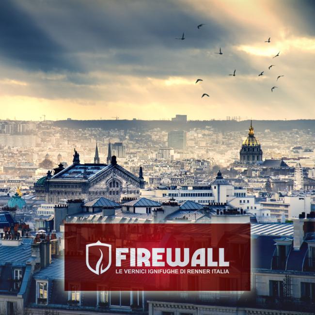 Vernici ignifughe Firewall: massima sicurezza, massima bellezza
