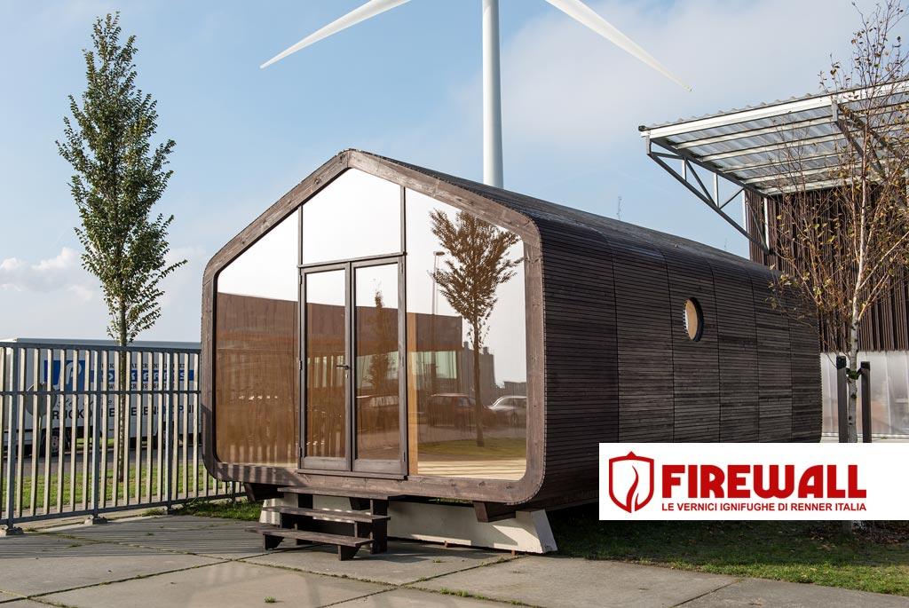 Una casa di cartone perch no le vernici ignifughe per il legno firewall le vernici - Casa di cartone ...